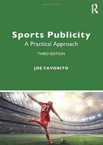 9780367434663-0367434660-Sports Publicity: A Practical Approach