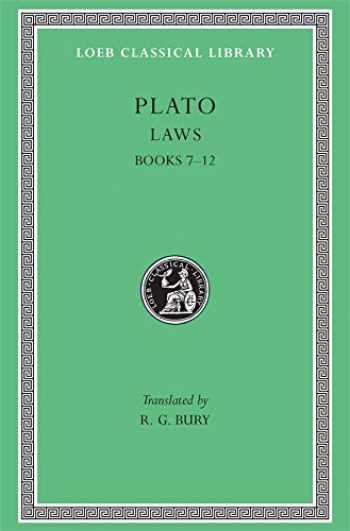 9780674992115-0674992113-Plato: Laws, Books 7-12 (Loeb Classical Library No. 192)