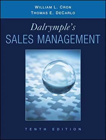 9780470169650-0470169656-Dalrymple's Sales Management: Concepts and Cases