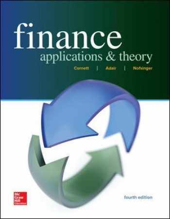 9781259691416-1259691411-Finance: Applications and Theory (Mcgraw-hill / Irwin Series in Finance, Insurance and Real Estate)