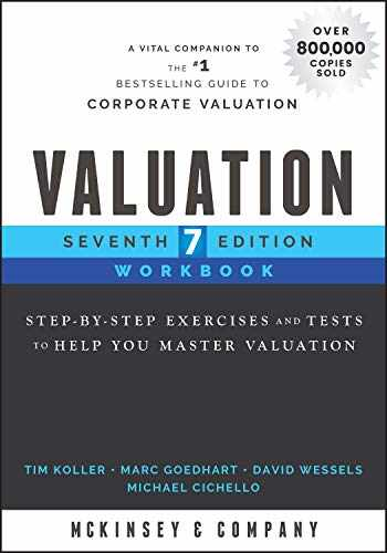 9781119611813-1119611814-Valuation Workbook: Step-by-Step Exercises and Tests to Help You Master Valuation (Wiley Finance)