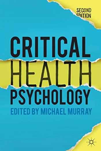 9781137282651-1137282657-Critical Health Psychology
