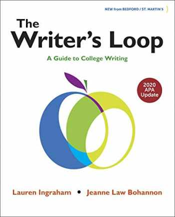 9781319361549-1319361544-The Writer's Loop with 2020 APA Update
