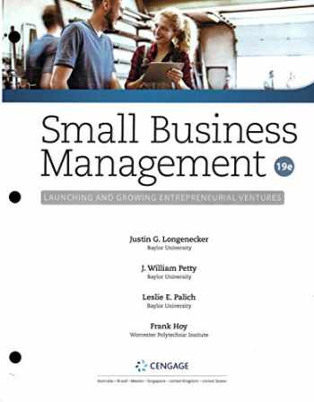 9780357039380-0357039386-Small Business Management: Launching and Growing Entreprenrurial Ventures (19th Edition) Looseleaf