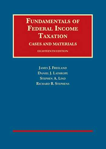 9781634603157-163460315X-Fundamentals of Federal Income Taxation (University Casebook Series)