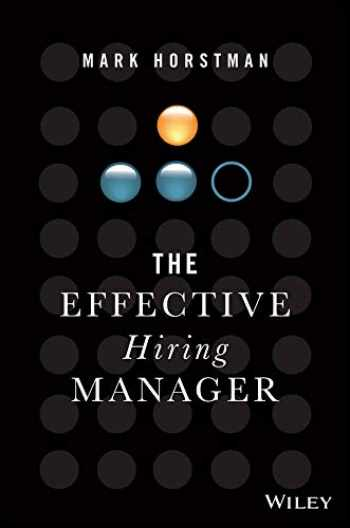 9781119574323-1119574323-The Effective Hiring Manager
