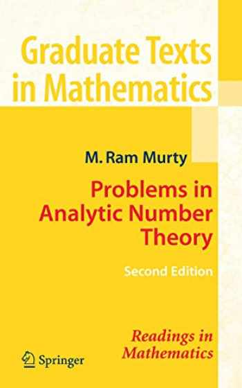 9780387723495-0387723498-Problems in Analytic Number Theory (Graduate Texts in Mathematics (206))