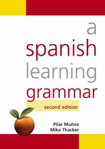 9780340916872-0340916877-A Spanish Learning Grammar (Hodder Arnold Publication) (Volume 1)
