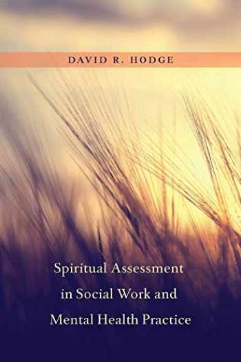 Sell, Buy or Rent Spiritual Assessment in Social Work and ...