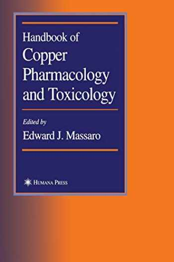 9780896039438-0896039439-Handbook of Copper Pharmacology and Toxicology