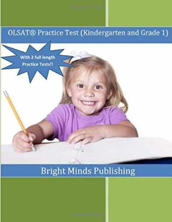 9781479186228-1479186228-OLSAT Practice Test (Kindergarten and Grade 1): (With 2 Full Length Practice Tests)