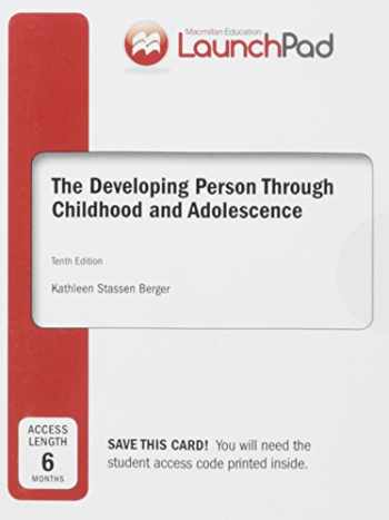 9781464177378-1464177376-LaunchPad for Berger's Developing Person Through Childhood & Adolescence (Six Month Access)