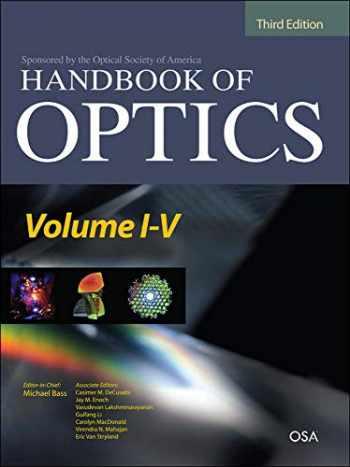 9780071701600-0071701605-Handbook of Optics Third Edition, 5 Volume Set