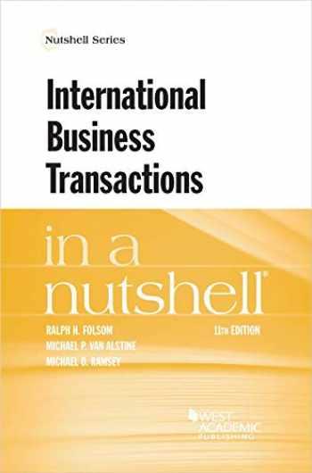 9781684675166-1684675162-International Business Transactions in a Nutshell (Nutshells)