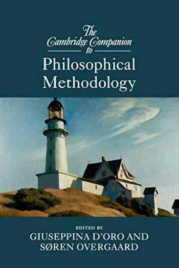 9781107547360-1107547369-The Cambridge Companion to Philosophical Methodology (Cambridge Companions to Philosophy)