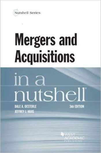 9780314280312-0314280316-Mergers and Acquisitions in a Nutshell (Nutshells)