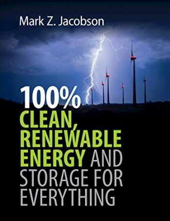 9781108790833-1108790836-100% Clean, Renewable Energy and Storage for Everything
