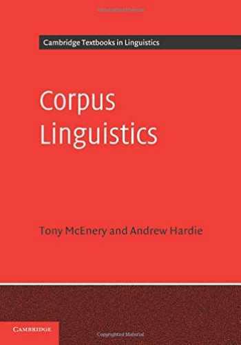 9780521547369-0521547369-Corpus Linguistics: Method, Theory and Practice (Cambridge Textbooks in Linguistics)