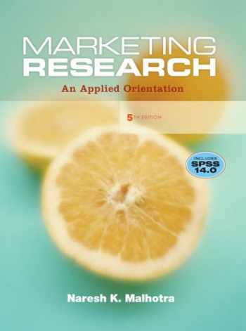 9780132221177-0132221179-Marketing Research: An Applied Orientation (5th Edition)