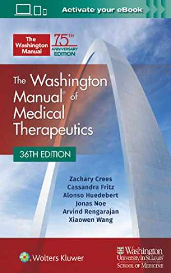 9781975113483-1975113489-The Washington Manual of Medical Therapeutics Paperback