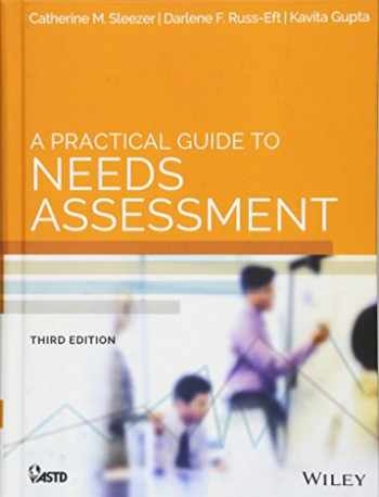 9781118457894-1118457897-A Practical Guide to Needs Assessment (American Society for Training & Development)