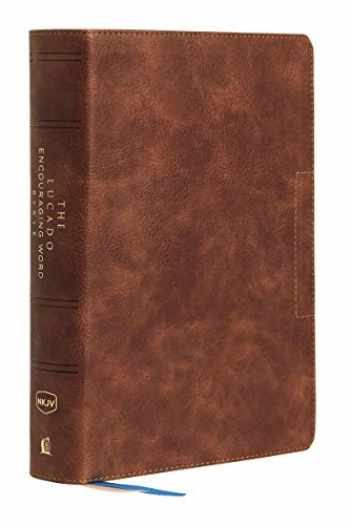 9780785207412-0785207414-NKJV, Lucado Encouraging Word Bible, Leathersoft, Brown, Thumb Indexed, Comfort Print: Holy Bible, New King James Version