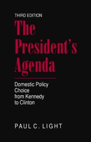 9780801860669-0801860660-The President's Agenda: Domestic Policy Choice from Kennedy to Clinton