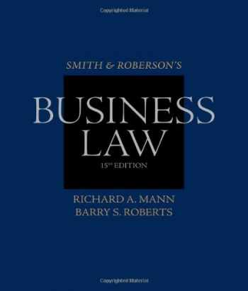 9780538473637-0538473630-Smith and Roberson's Business Law (Smith & Roberson's Business Law)