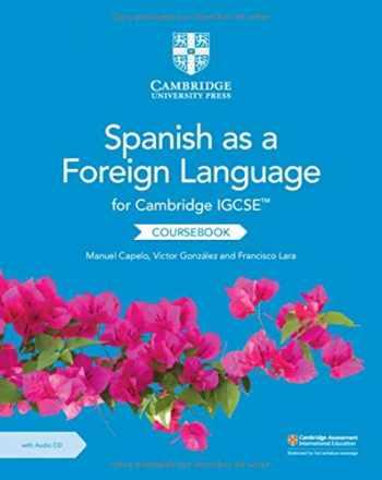 9781108609630-1108609635-Cambridge IGCSE™ Spanish as a Foreign Language Coursebook with Audio CD (Cambridge International IGCSE) (Spanish Edition)