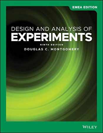 9781119589068-1119589061-Design and Analysis of Experiments