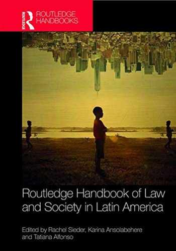 9781138184459-1138184454-Routledge Handbook of Law and Society in Latin America (Routledge Handbooks)