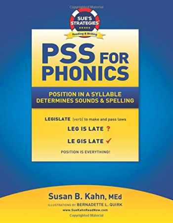 9781726295406-1726295400-PSS For Phonics: Position In A Syllable Determines Sounds & Spelling