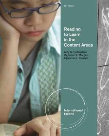 9781111827335-1111827338-Reading to Learn in the Content Areas, International Edition
