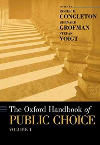9780190469733-0190469730-The Oxford Handbook of Public Choice, Volume 1 (Oxford Handbooks)