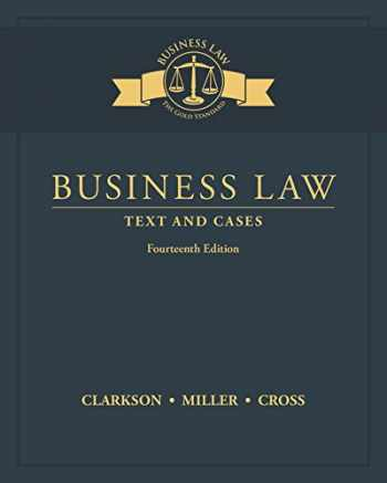 9781305967250-1305967259-Business Law: Text and Cases