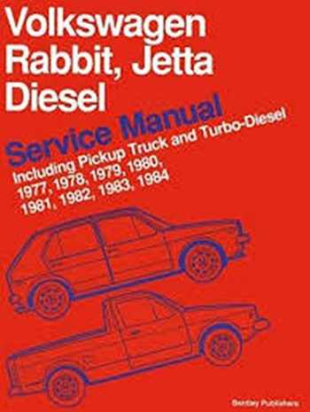 9780837601847-0837601843-Volkswagen Rabbit, Jetta Diesel Service Manual Including Pickup Truck and Turbo-Diesel 1977, 1978, 1979, 1980, 1981, 1982, 1983, 1984