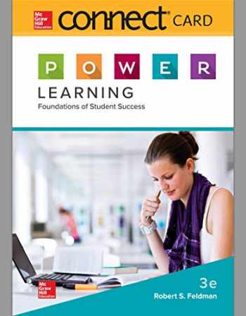 9781260735079-1260735079-Connect Access Card for P.O.W.E.R. Learning: Foundations of Student Success