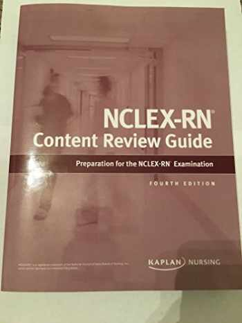 9781506202075-1506202071-Kaplan Nursing NCLEX-RN Content Review Guide 4th Edition