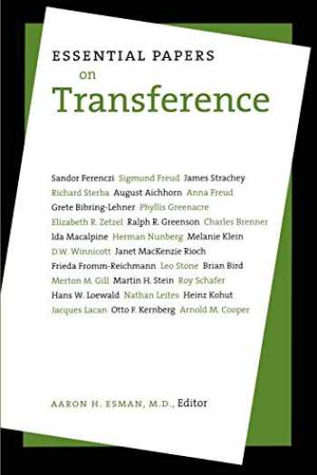 9780814721773-081472177X-Essential Papers on Transference (Essential Papers on Psychoanalysis, 15)