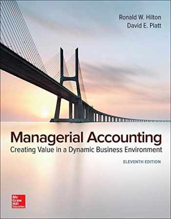 9781260009279-1260009270-GEN COMBO MANAGERIAL ACCOUNTING; CONNECT ACCESS CARD