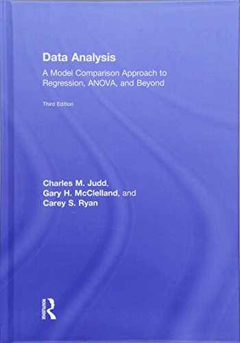9781138819825-1138819824-Data Analysis: A Model Comparison Approach To Regression, ANOVA, and Beyond, Third Edition