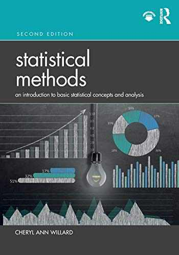 9780367203528-0367203529-Statistical Methods: An Introduction to Basic Statistical Concepts and Analysis