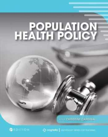 9781516543953-1516543955-Population Health Policy