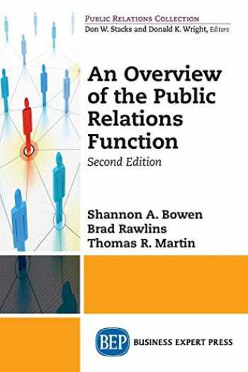 9781949443660-1949443663-An Overview of The Public Relations Function, Second Edition