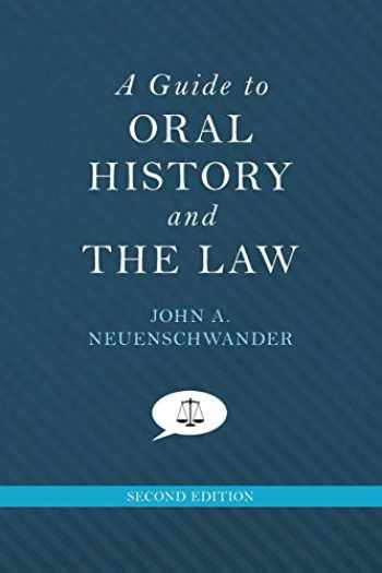 9780199342518-0199342512-A Guide to Oral History and the Law (Oxford Oral History Series)