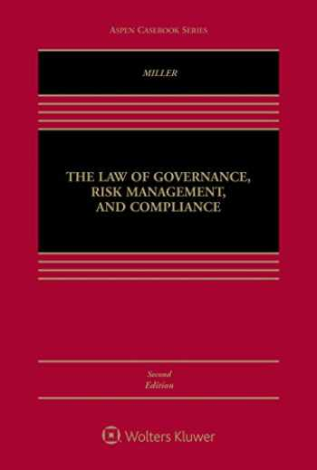 9781454881988-1454881984-The Law of Governance, Risk Management, and Compliance (Aspen Casebook)