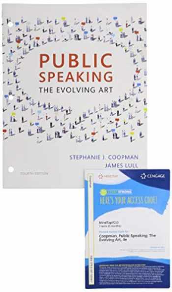9780357292143-0357292146-Bundle: Public Speaking: The Evolving Art, Loose-leaf Version, 4th + MindTapV2.0, 1 term Printed Access Card