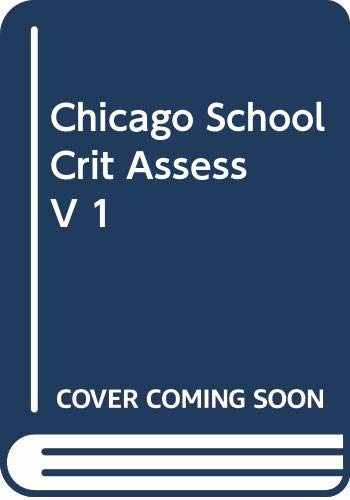 9780415116404-0415116406-The Chicago School: Critical Assessments