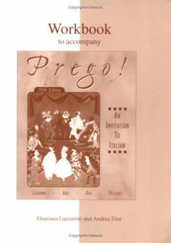 9780072432671-0072432675-Workbook to accompany Prego! An Invitation to Italian