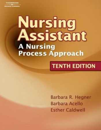 9781418066093-1418066095-Workbook to Accompany Nursing Assistant: A Nursing Process Approach